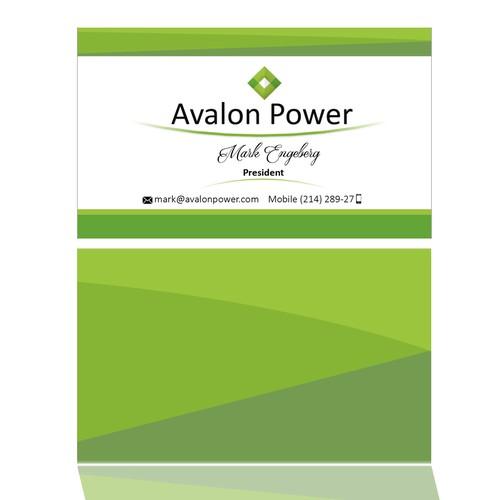 BussinesCard Avalon Power