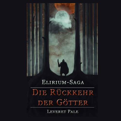 Illustration for a dark fantasy book cover
