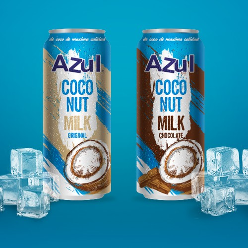 Bold & Refreshing packaging for Coconut Milk Drink