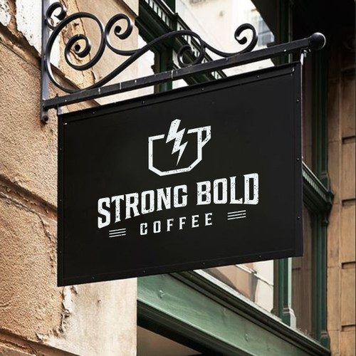 Logo for Strong Bold Coffee