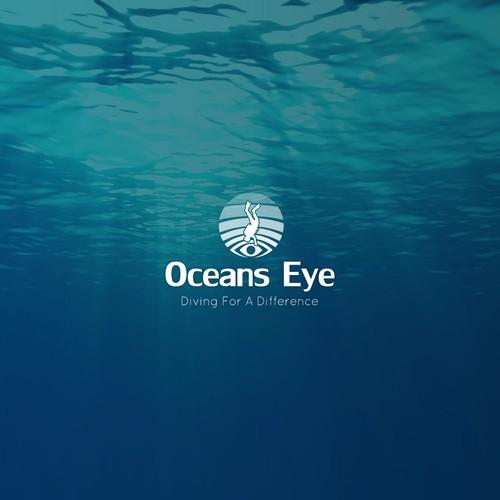 Logo concept for diving community