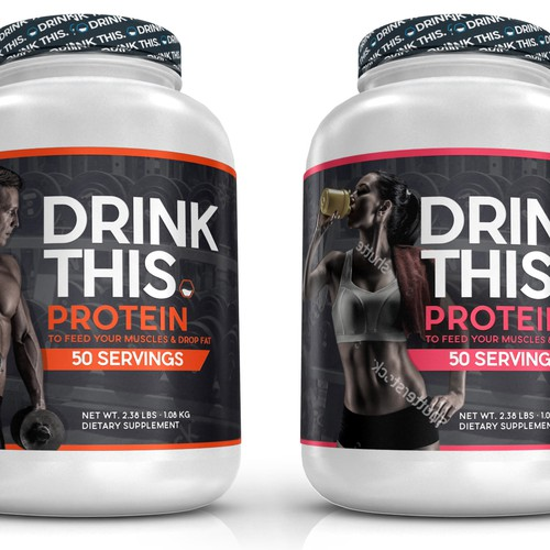 Supplement Label For Drink This.