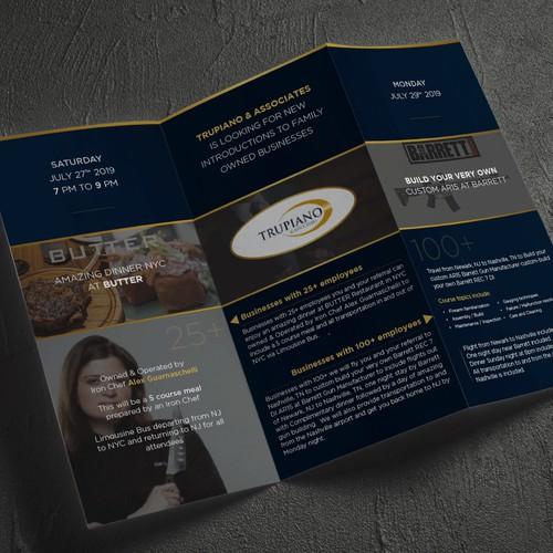 Brochure for Trupiano