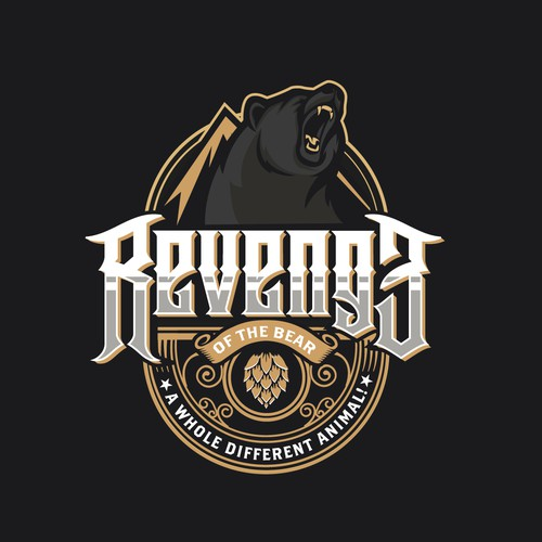 Logo for Revenge of the Bear brewery