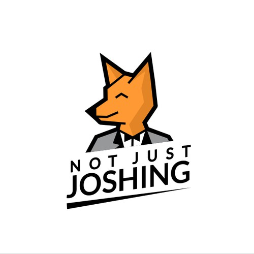 Fun logo for Not Just Joshing