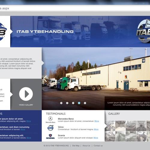 ITAB Web page Design