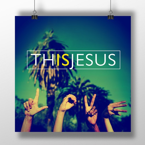 This is Jesus Poster