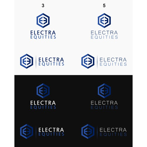 Electra Equities Logo Design