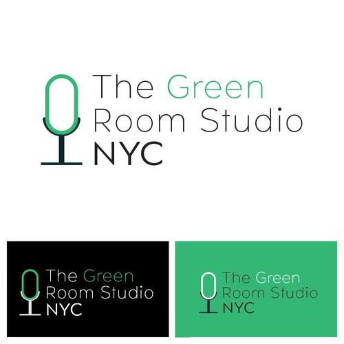 Logo for The Green Room Studio