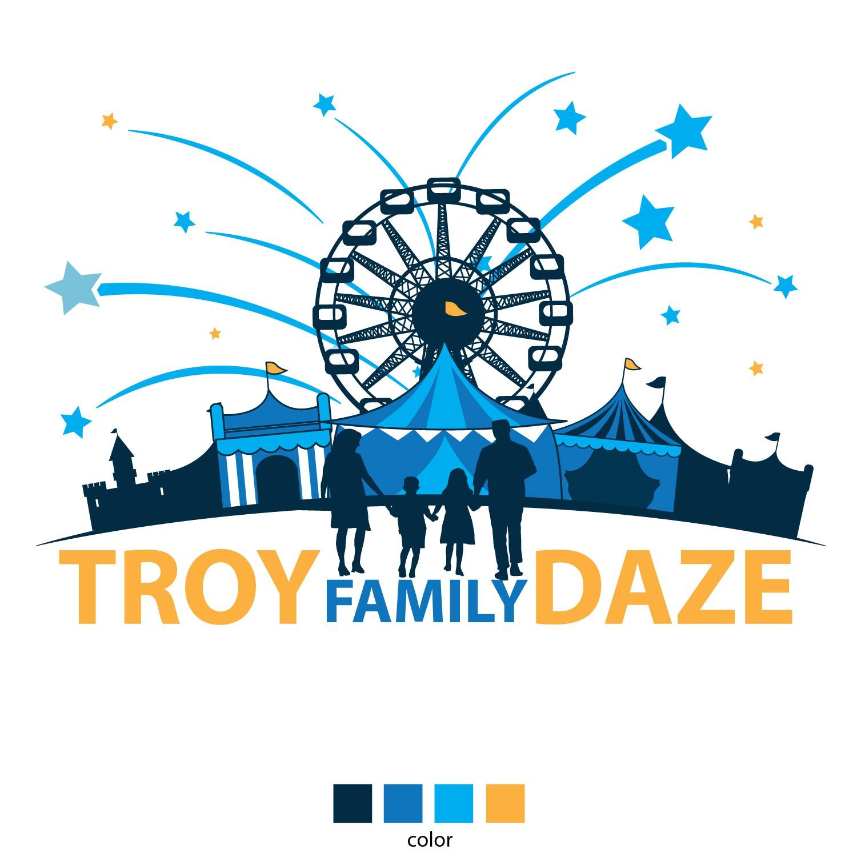Troy Family Daze Logo 2018