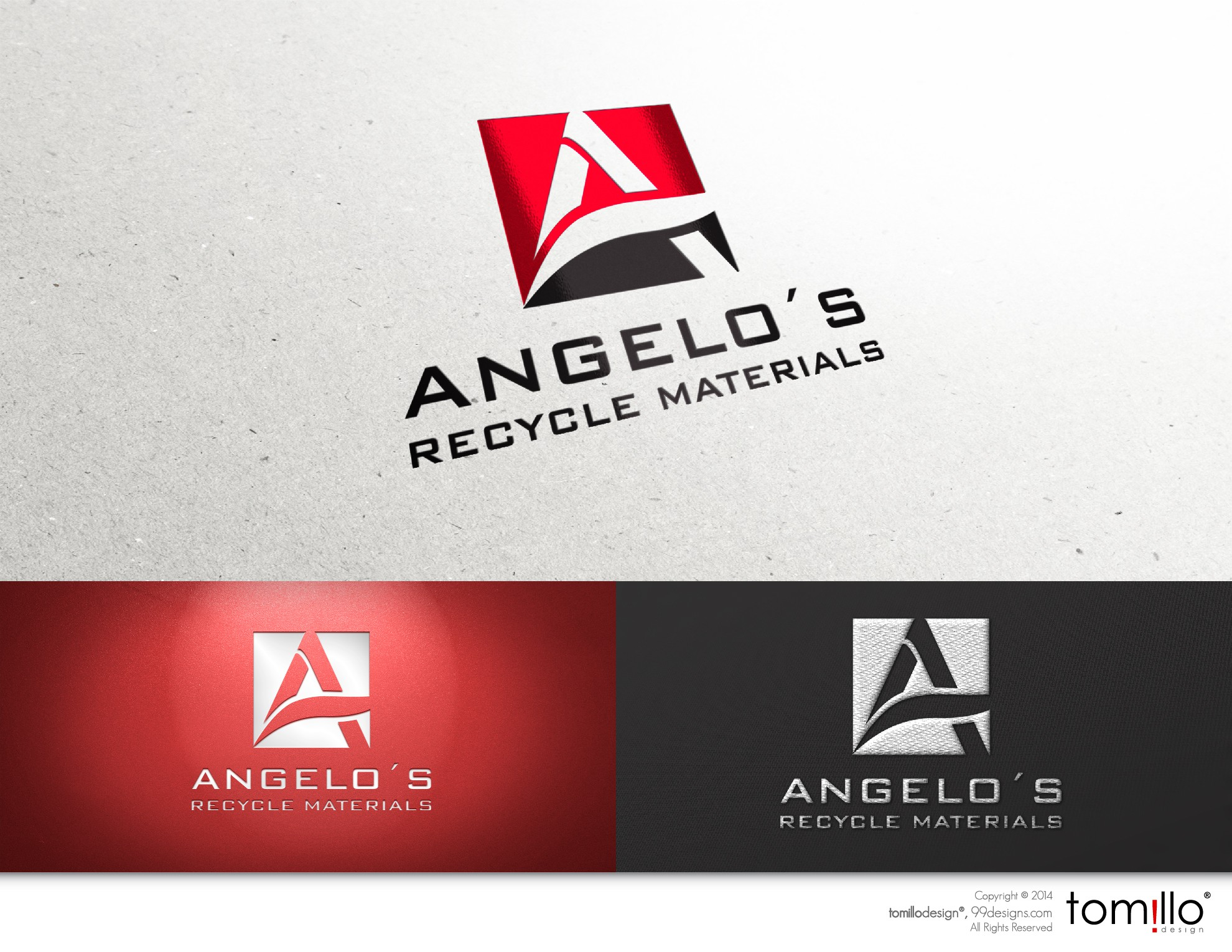 Create a brand image for a long established recycling company.