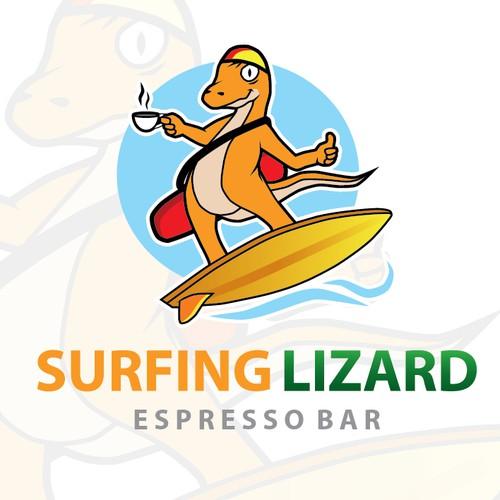 Surfing Lizard needs a new logo