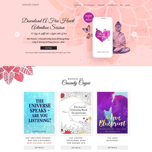 Final Round website design