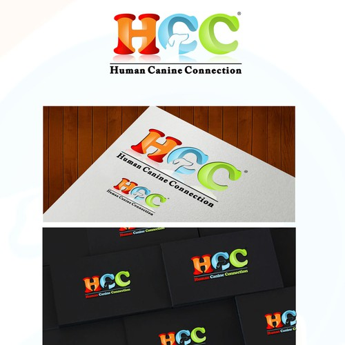 Human Canine Connection Corp. (or HCC) needs a new logo