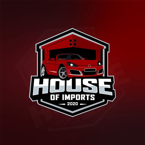 logo for house of import