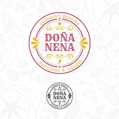 Doña Nena - Logotype