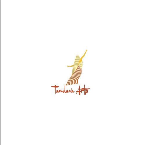 Logo for tandava belly dance and theater.