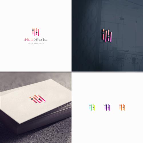 luxury logo for music studio