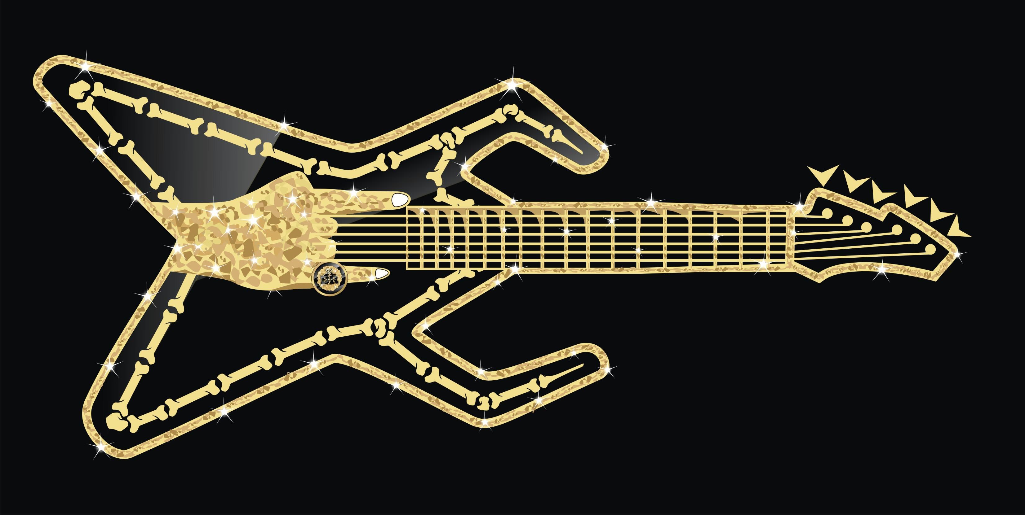 Br guitar for apparel