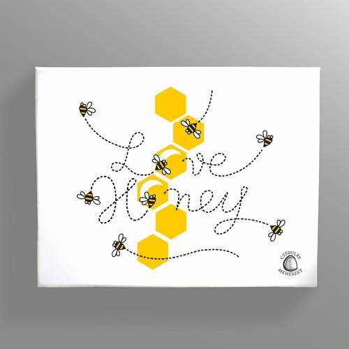 Gift box for honey lovers