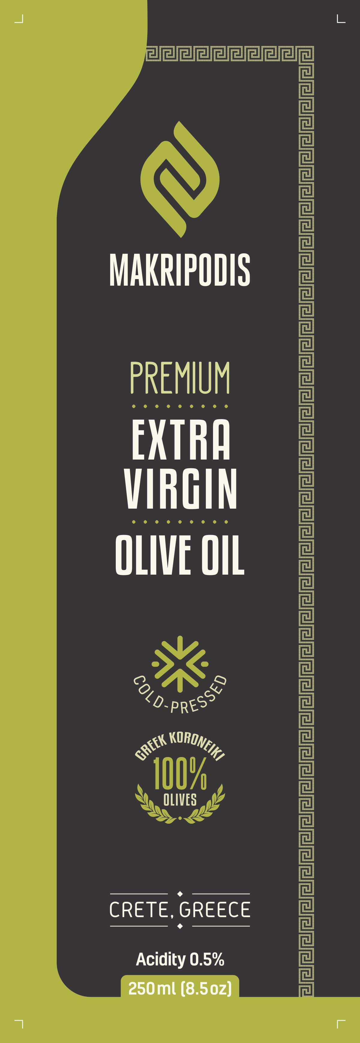 Makripodis Olive Oil Sell Sheet