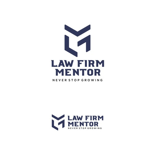 Law Firm Mentor Logo Design