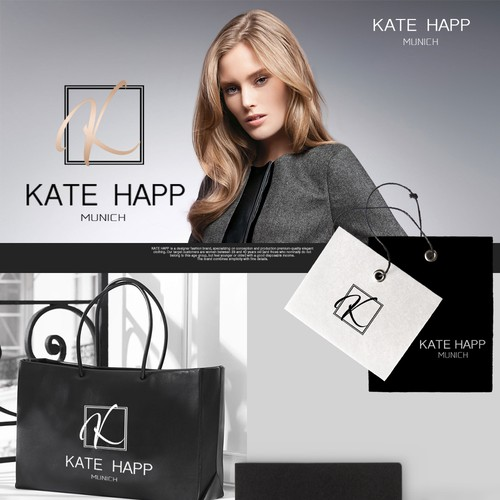 Logo concept for Kate Happ