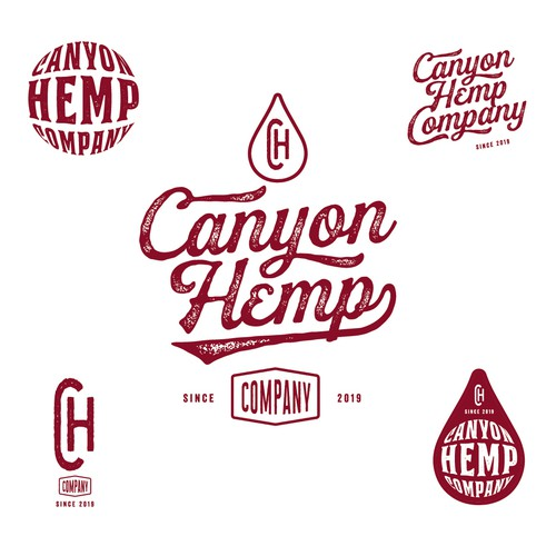 Brand system for hemp//CBD oil company