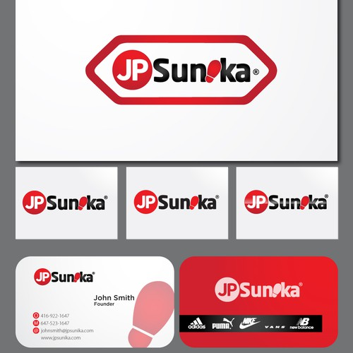 Create the next logo for JP Sunika