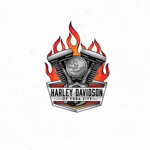 Logo for motorcycle dealership.
