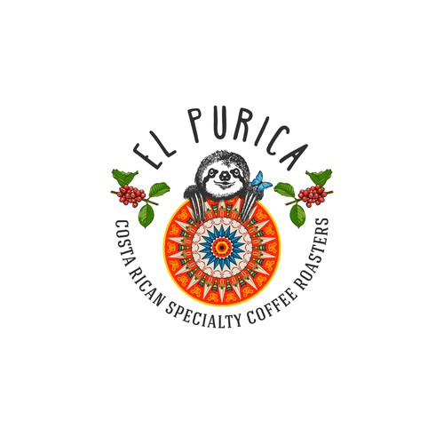 Logo for 'El Purica'