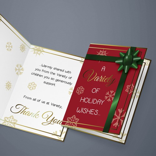 Holiday Greeting Card Design