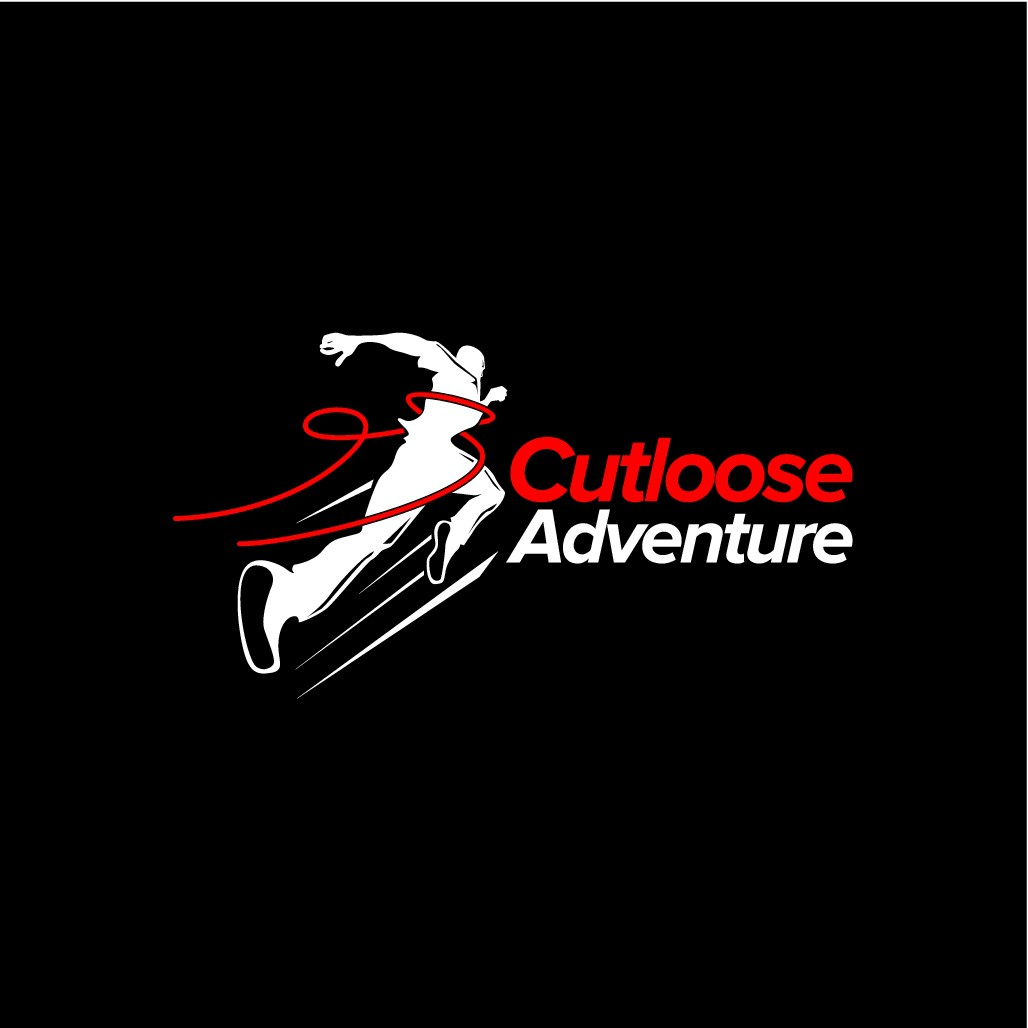 """Cutloose on the run (adventure) kick ass logo required"""