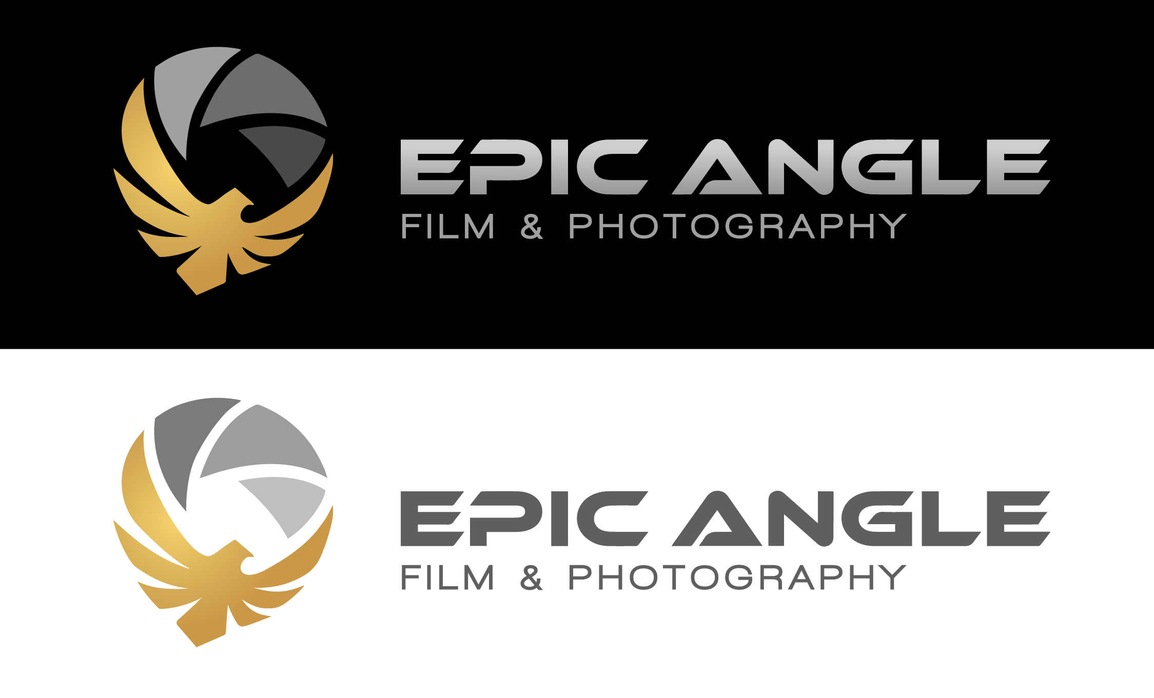 create a an impressing and artistic logo for a new film&photography business