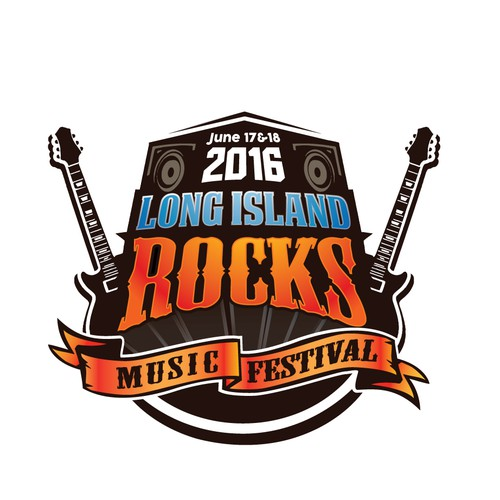 rock music logo