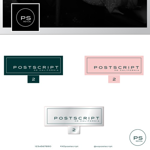 Branding for the fashion company