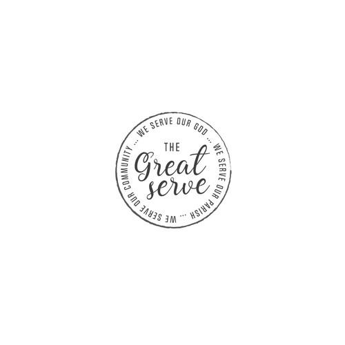 Catholic church/school fundraising gala logo concept