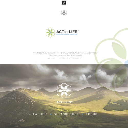Logo design for ACT for Life