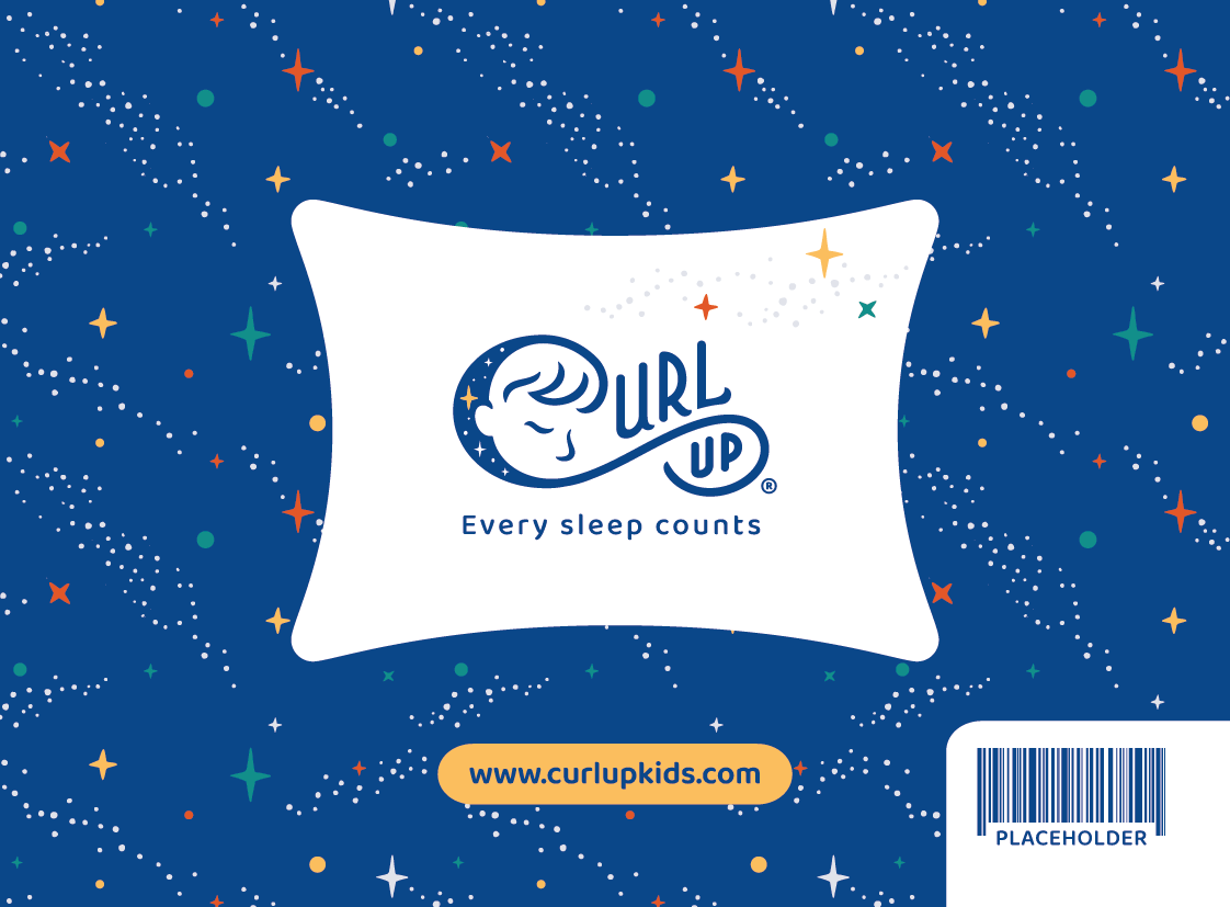 Curl Up Package Design box+insert