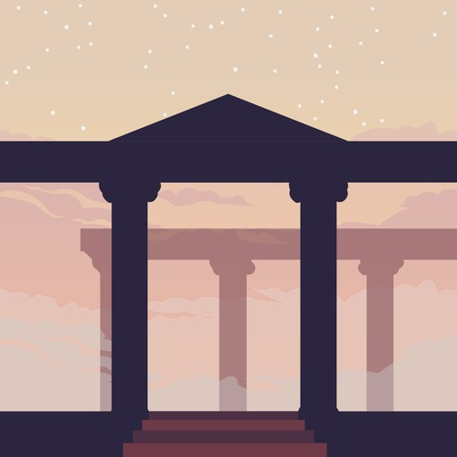 Column edge illustration