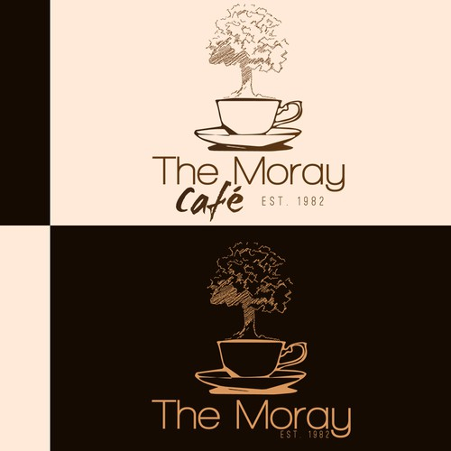 Small cafe in need of a fresh logo redesign