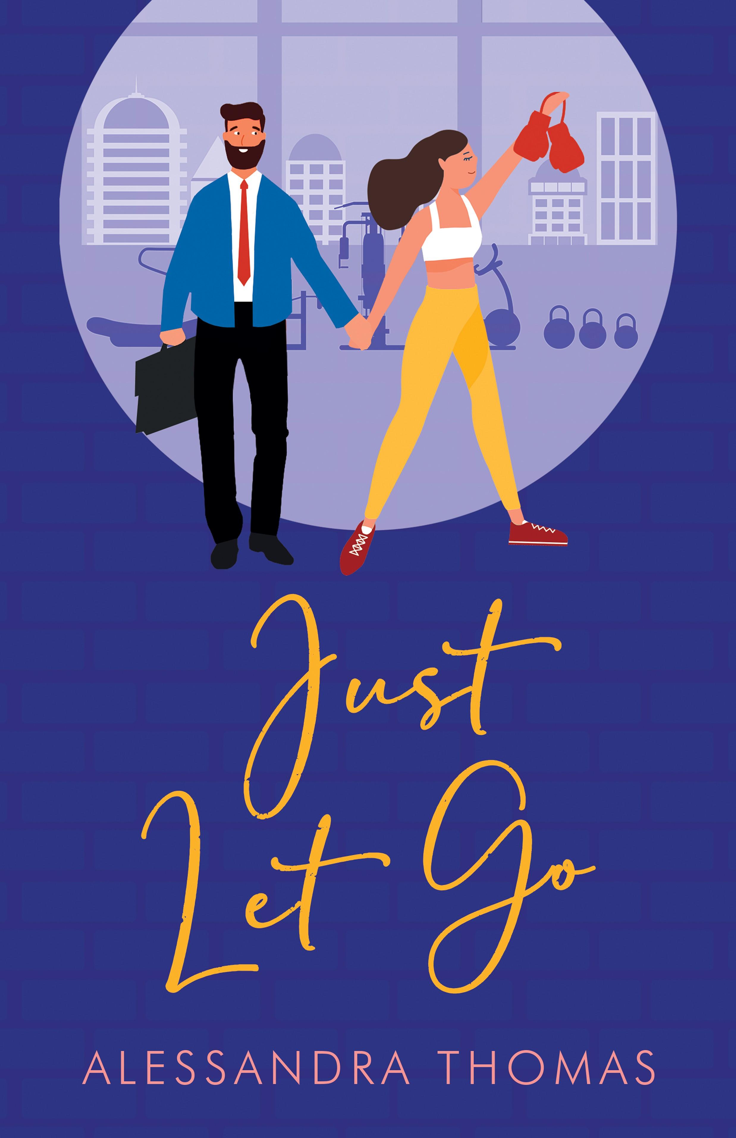 Romance/women's fiction book cover