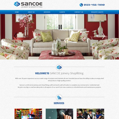 SANCOE JOINERY AND SHOPFITTING WEBSITE NEEDED!!!!