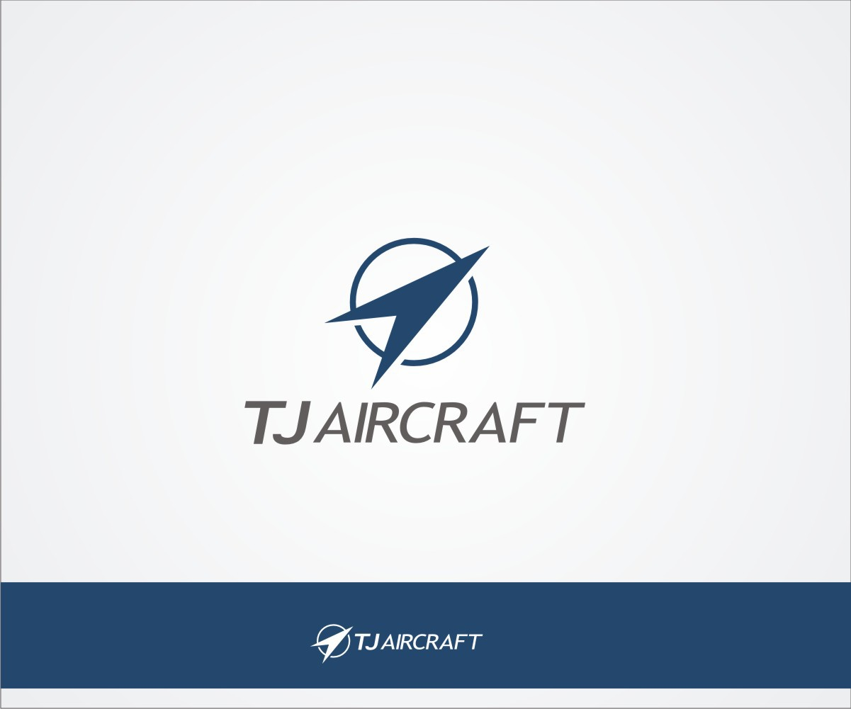 Create a simple and powerful logo for TJ Group, a CNC shop producing aerospace parts.