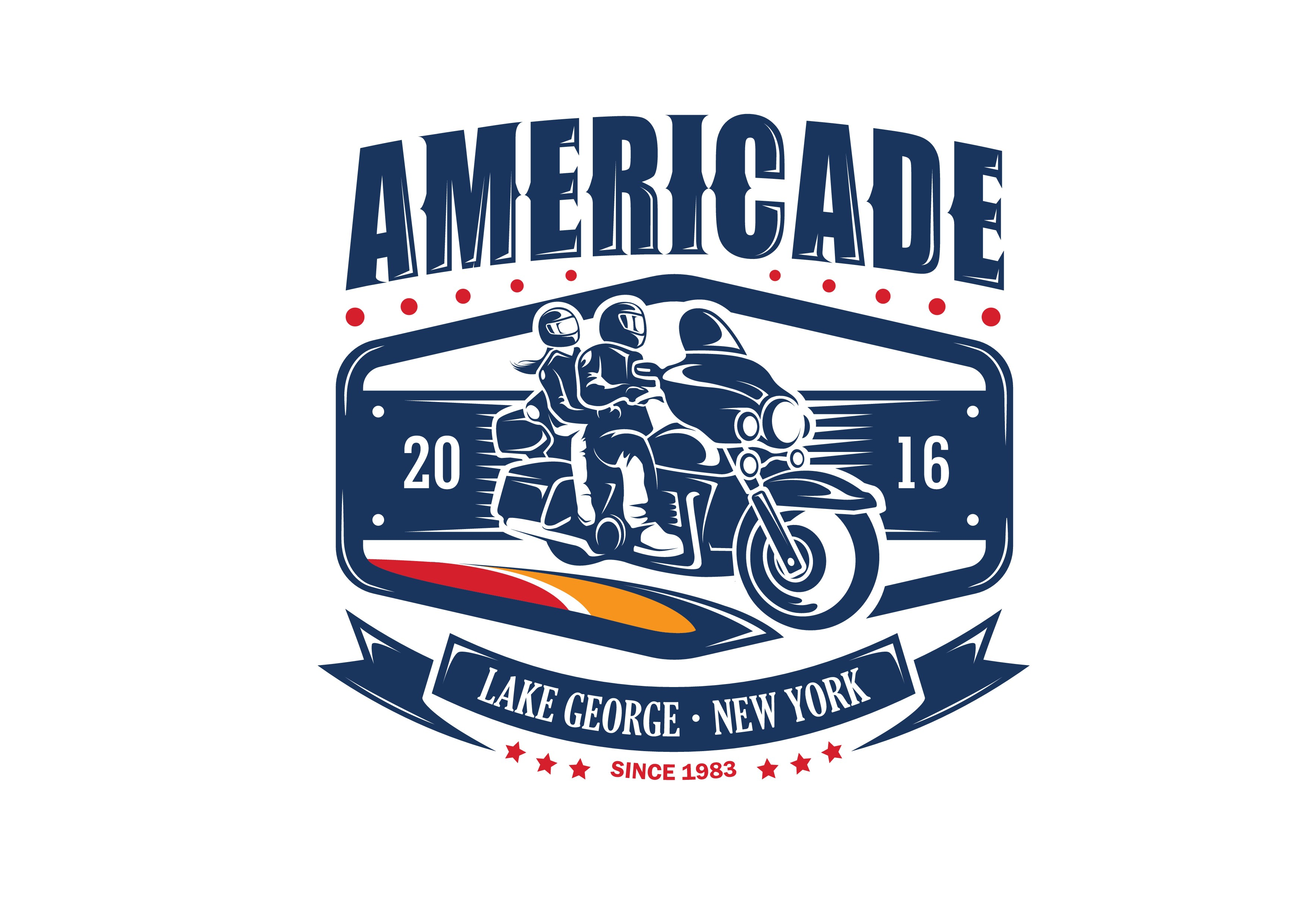 Create Winning T-shirt/Pin/Patch/Decal design for Motorcycle Rally