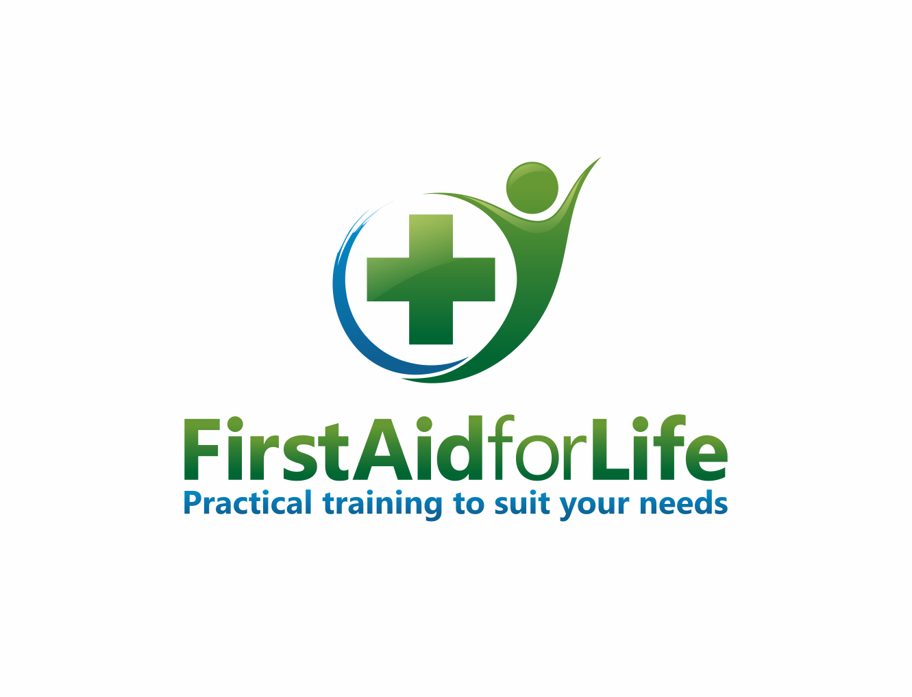 Please create the next logo for First Aid for Life - a First Aid Training company that really cares