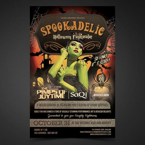Spookadelic Poster