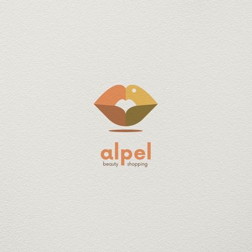 Bold logo  concept for cosmetics