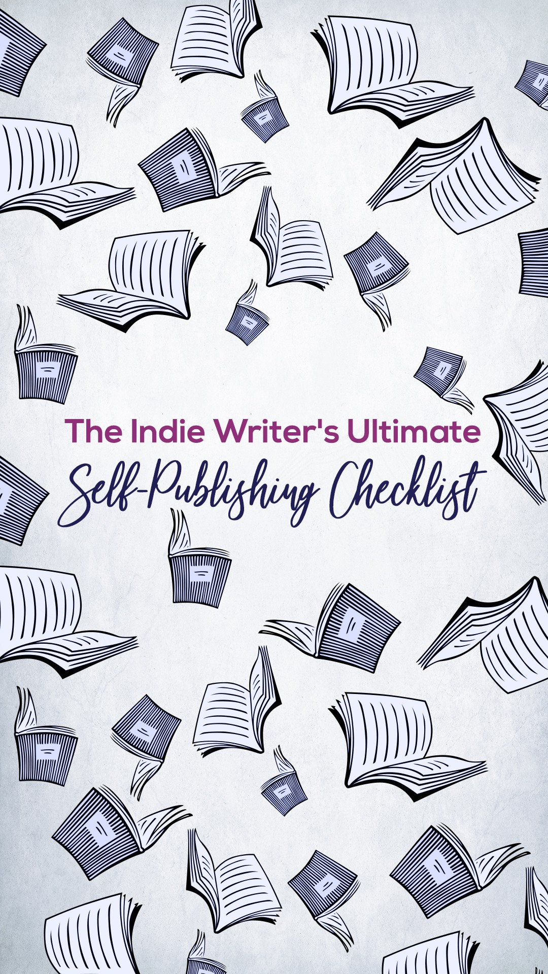 The Indie Writer's Ultimate Self-Publishing Checklist - banners