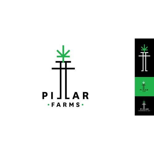 Logo concept for Pillar Farms